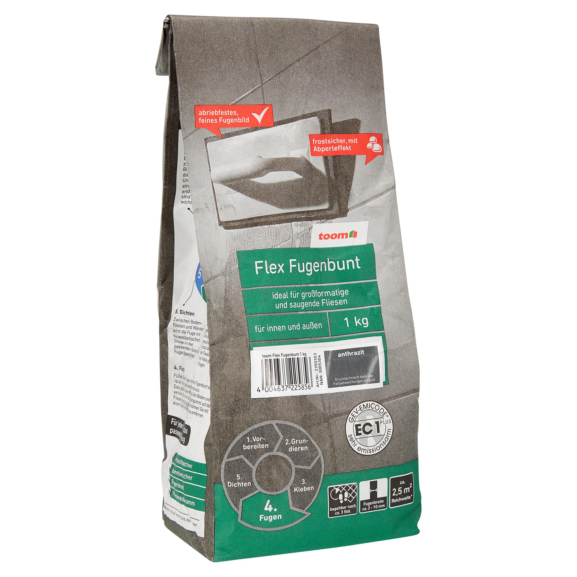 flex-fugenbunt anthrazit 1 kg toom ǀ toom baumarkt