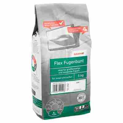 Flex-Fugenbunt weiss 5 kg toom