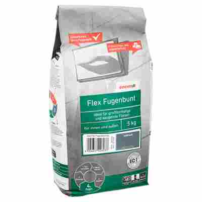 Flex-Fugenbunt anthrazit 5 kg toom