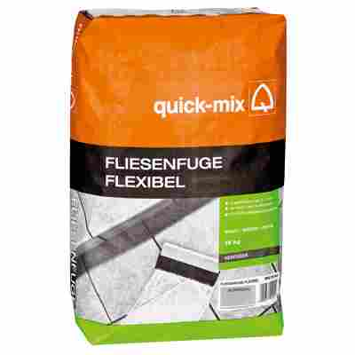 Fliesenfuge 'flexibel' silbergrau 15 kg