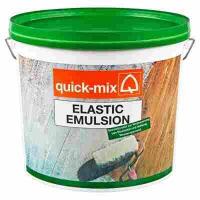 Elastic Emulsion