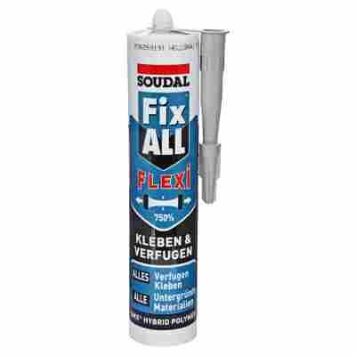 "Dicht- und Klebstoff ""Fix All Flexi"" hellgrau 470 g"