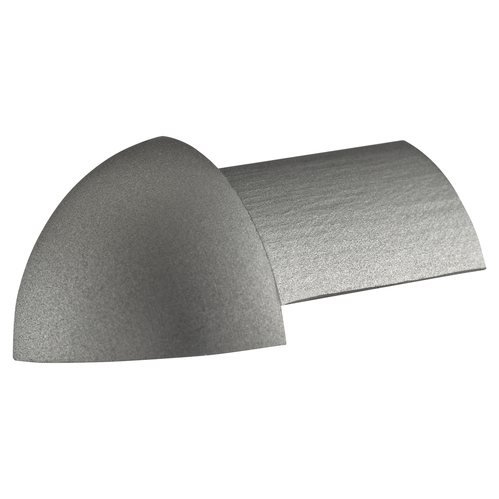 Außenecke Aluminium Silbern 0,8 Cm