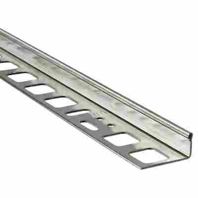 Winkelprofil Edelstahl silber 10 mm