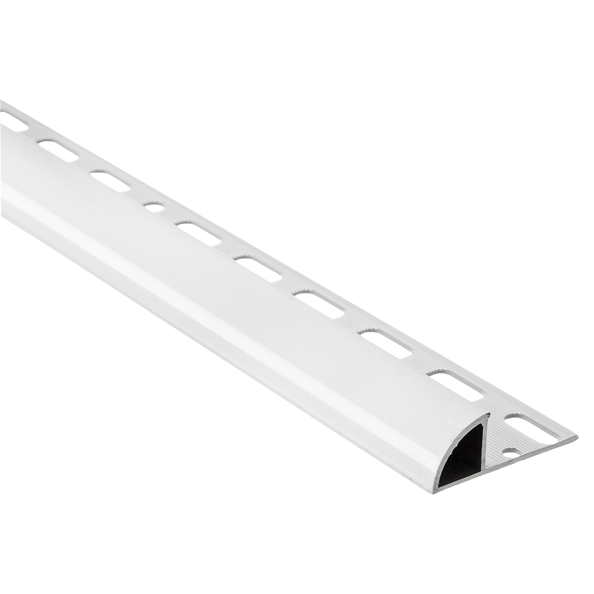 20+ Alfer Viertelkreisprofil Aluminium weiß, Breite 8 mm Galerie