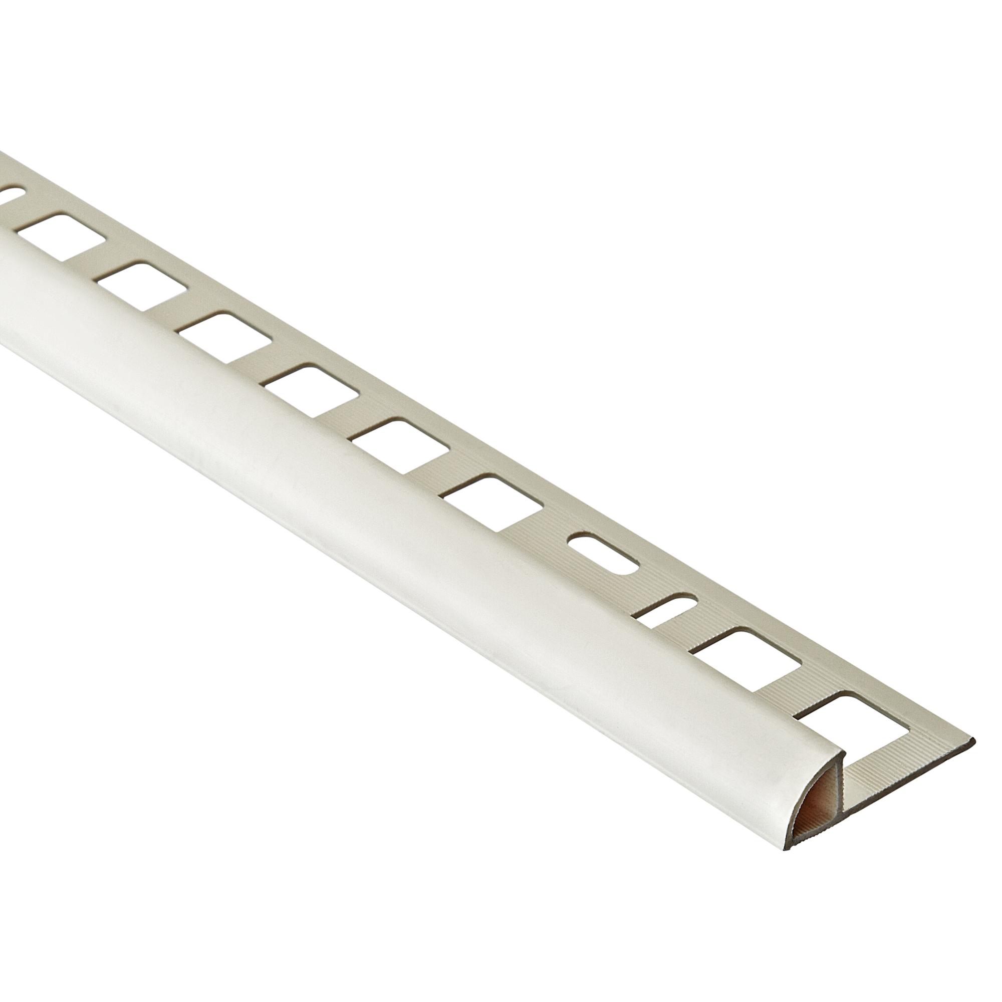 Alfer PVC Viertelkreisprofil weiß 8 x 8,8 mm