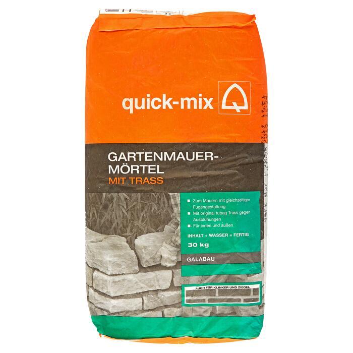 Quick Mix Gartenmauermortel 30 Kg ǀ Toom Baumarkt