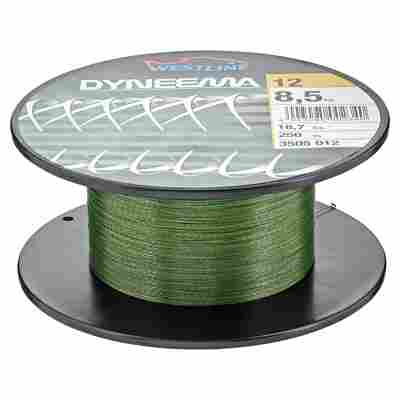"""Angelschnur """"Dyneema"""" grün 8,5 kg 250 m"""
