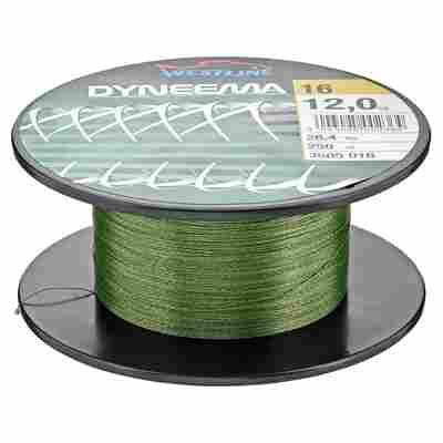 """Angelschnur """"Dyneema"""" grün 12 kg 250 m"""