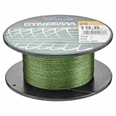 """Angelschnur """"Dyneema"""" grün 19,8 kg 250 m"""