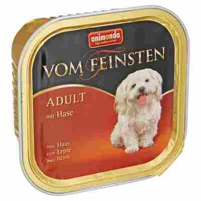 """Hundenassfutter """"Vom Feinsten"""" Adult mit Hase 150 g"""