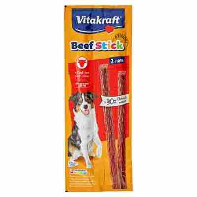 "Hundesnack ""Beef Stick"" mit Rind 2 Stück"