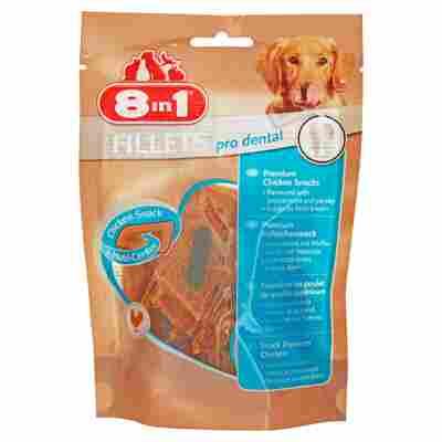 """Kausnacks """"Fillets"""" pro dental Huhn 80 g"""