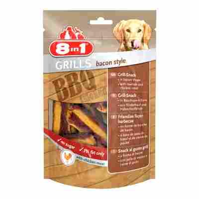 "Kausnacks ""Grills"" bacon style Huhn 80 g"