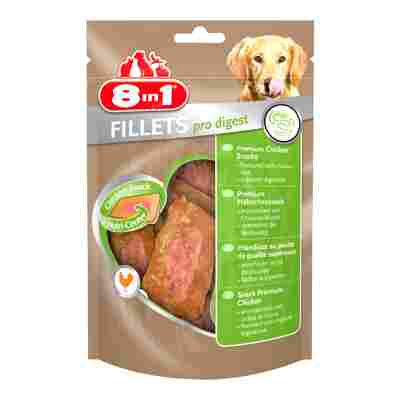 "Kausnacks ""Fillets"" pro digest Huhn 80 g"