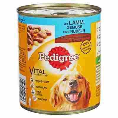 """Hundenassfutter """"Adult"""" Saftiges Geschnetzeltes Lamm 800 g"""
