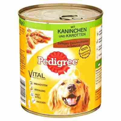 "Hundenassfutter ""Vital Protection"" Kaninchen und Karotten 800 g"