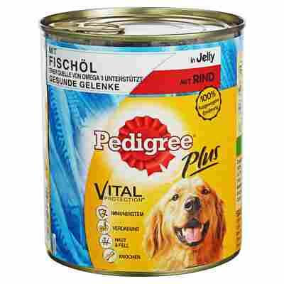 """Hundenassfutter """"Plus"""" Rind mit Fischöl 800 g"""
