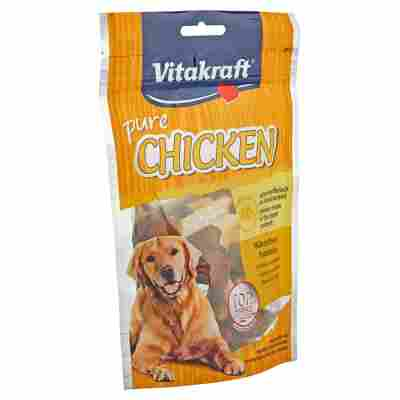 "Hundesnack ""Pure"" Chicken mit Hühnchenhanteln 80 g"