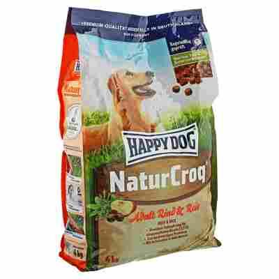 "Hundetrockenfutter ""NaturCroq"" Adult mit Rind/Reis 4 kg"