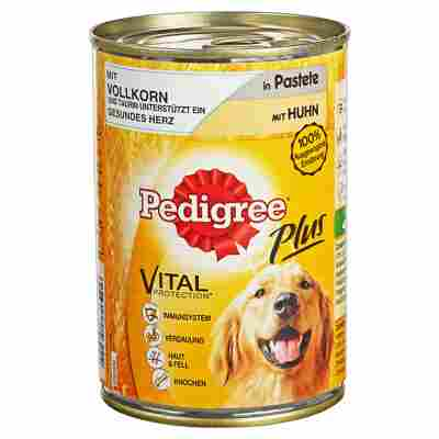 "Hundenassfutter ""Plus"" Huhn in Pastete 400 g"