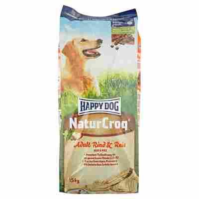"Hundetrockenfutter ""NaturCroq"" Adult mit Rind/Reis 15 kg"