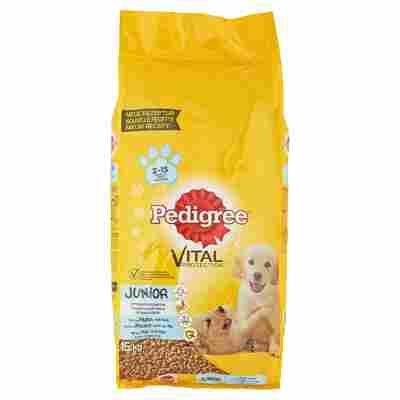 """Hundetrockenfutter """"Vital Protection"""" Junior mit Huhn/Reis 15 kg"""