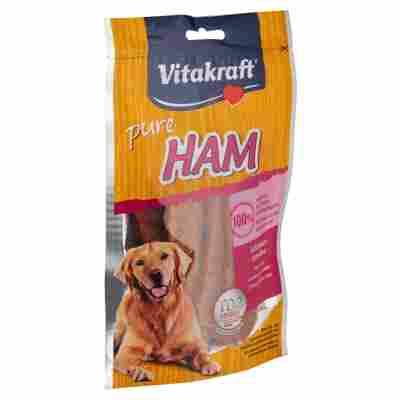 """Hundesnack """"Pure"""" mit Schinken 80 g"""