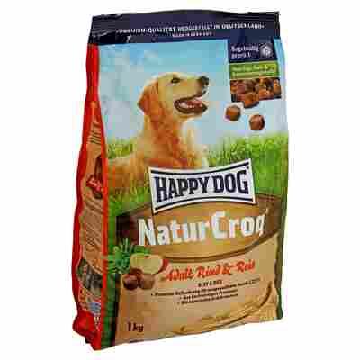 """Hundetrockenfutter """"NaturCroq"""" Adult mit Rind und Reis 1 kg"""
