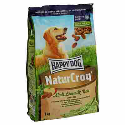 "Hundetrockenfutter ""NaturCroq"" Adult Lamm und Reis 1 kg"