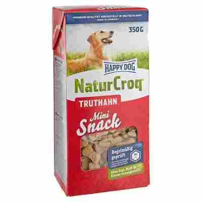 "Hundesnack ""NaturCroq"" mini Truthahn 350 g"