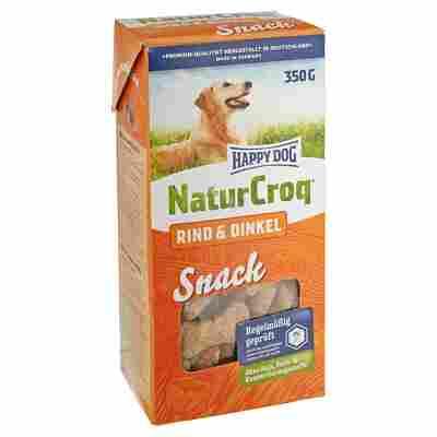 "Hundesnack ""NaturCroq"" Rind und Dinkel 350 g"