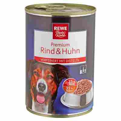 """Hundenassfutter """"Premium"""" Rind und Huhn 400 g"""