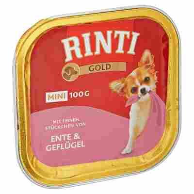 """Hundenassfutter """"Gold Mini"""" mit Ente und Geflügel 100 g"""