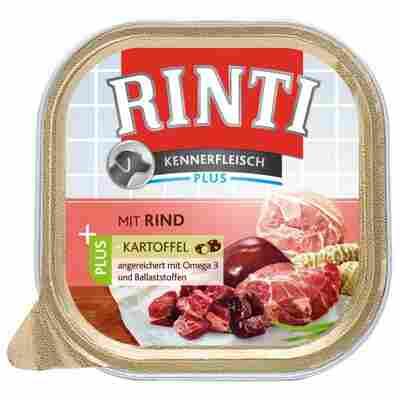 Hundenassfutter 'Kennerfleisch' mit Rind plus Kartoffel 300 g