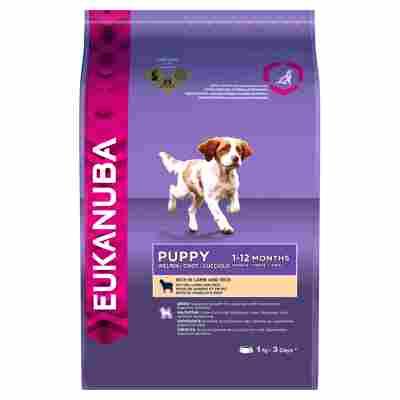"""Hundetrockenfutter """"Puppy"""" kleine/mittelgroße Rassen Lamm 1 kg"""