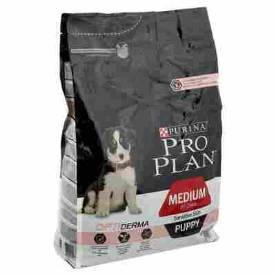 Hundetrockenfutter Pro Plan® Puppy Medium Sensitive Skin 3 kg