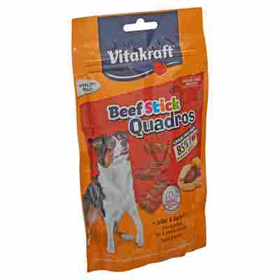 "Hundesnack ""Beef Stick Quadros"" mit Leber/Kartoffel 70 g"