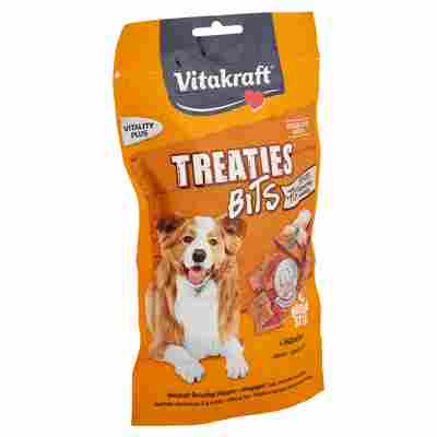 """Hundesnack """"Treaties"""" Bits mit Hühnchen/Bacon-Style 120 g"""