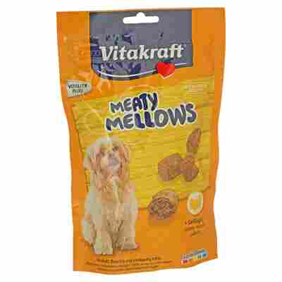 "Hundesnack ""Meaty Mellows"" mit Geflügel 120 g"