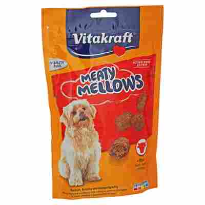 """Hundesnack """"Meaty Mellows"""" mit Rind 120 g"""