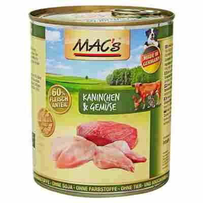 Hundenassfutter 800 g mit Kaninchen/Gemüse