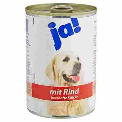 Hundenassfutter Rind 400 g