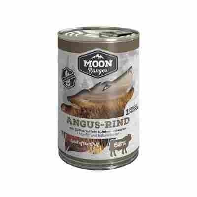Hundenassfutter Angus Rind mit Süßkartoffeln und Johannisbeere 400 g