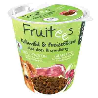 Hundesnack 'Fruitees' Rehwild und Preiselbeere 200 g
