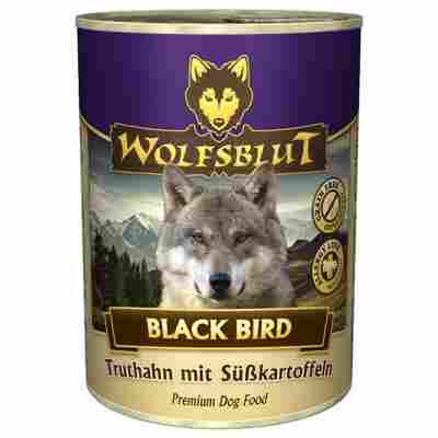 Hundenassfutter 'Black Bird' Adult Truthahn und Süßkartoffel 395 g