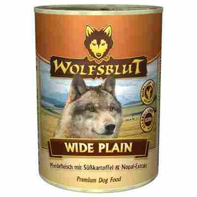 Hundenassfutter 'Wide Plain' Pferdefleisch und Süßkartoffeln 395 g