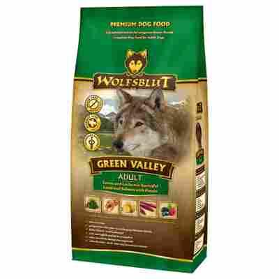 Hundetrockenfutter 'Green Valley' Adult Lamm und Lachs 2000 g