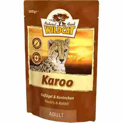 Katzennassfutter 'Karoo' Adult Geflügel und Kaninchen 100 g