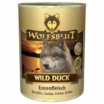 Hundenassfutter 'Wild Duck' Adult Ente 395 g